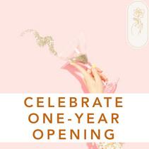 Celebrating ONE-YEAR Store Opening!