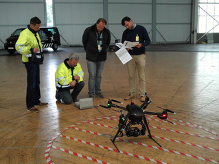 EuroUSC-Benelux B.V. and ADSE complete certification of a drone with an ADS-B Mode-S transponder