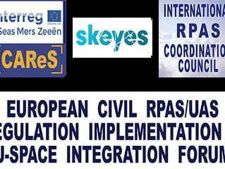 RPAS 2019 - European civil RPAS/UAS regulation implementation & U-Space integration forum