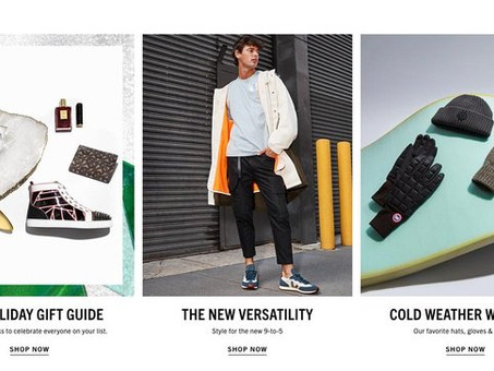 Saks Fifth Avenue relaunches website with emphasis on personalization