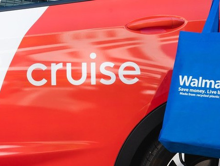 Walmart invests in autonomous vehicle startup Cruise