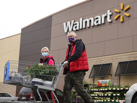 Walmart earnings top expectations as customers' new shopping habits send e-commerce sales soaring 79