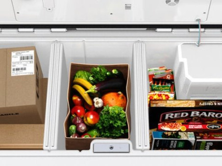 Walmart to test refrigerated boxes that store grocery orders outside homes