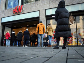 H&M Sales Slide 27% as More Stores Emerge from Lockdowns