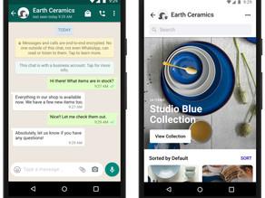 Facebook Shops Hits WhatsApp