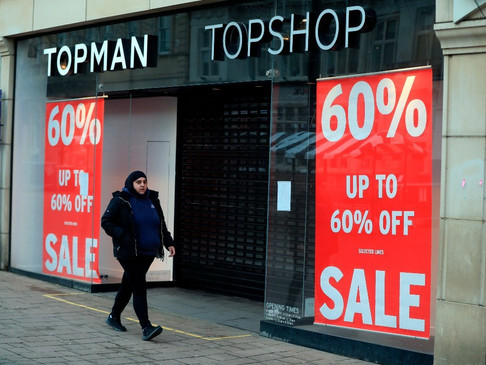 Topshop Parent to Close 31 Stores and Shed 700 Jobs
