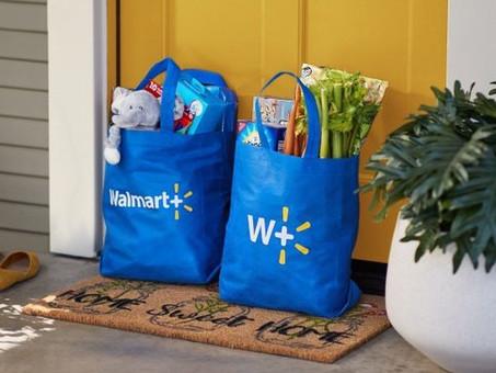 Walmart+ drops free shipping minimum