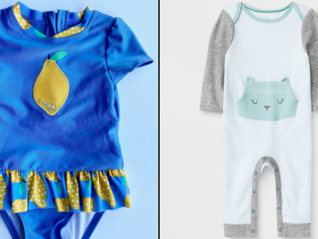Target recalls infant and toddler clothes because of a possible choking hazard