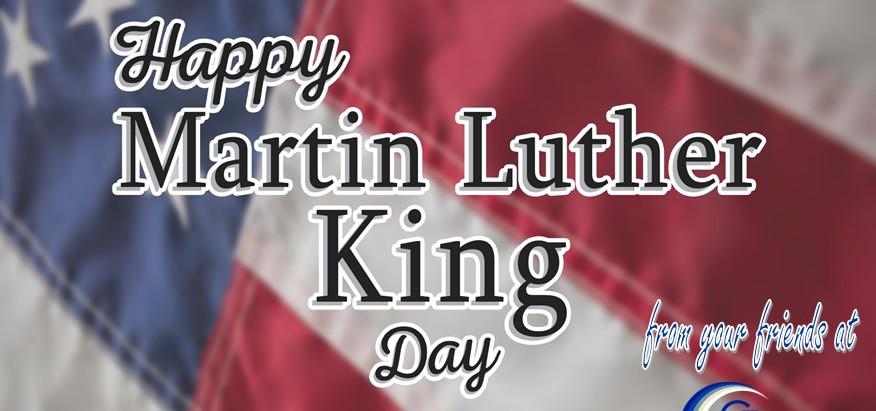 January 18 - Happy MLK Day!