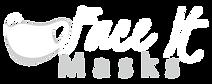 FaceItMasks Company Logo. FaceItMasks sells face masks online and custom / bulk face mask orders.