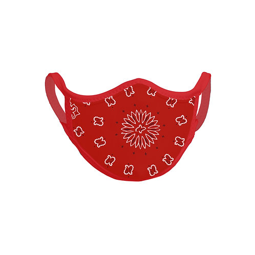 FaceItMasks | Red Bandana face mask