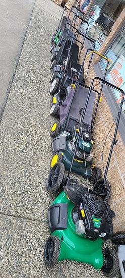 Variety Of Push Lawnmowers