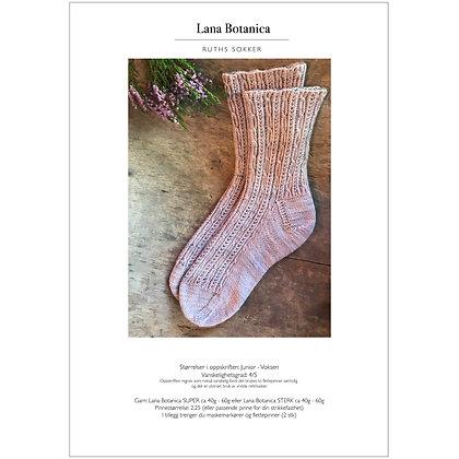 Oppskrift: Ruths sokker