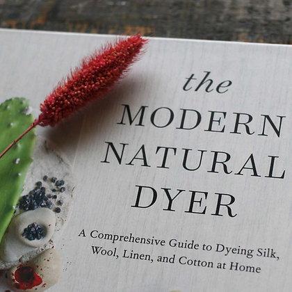 The Modern Natural Dyer (Vejar)