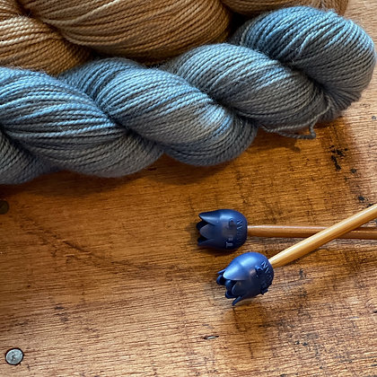 Pinnebeskyttere blå (pinne 4,0-6,5)