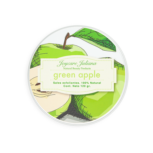 Exfoliante de Manzana Verde
