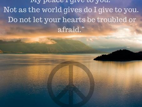 Peace – A Measure of Healing
