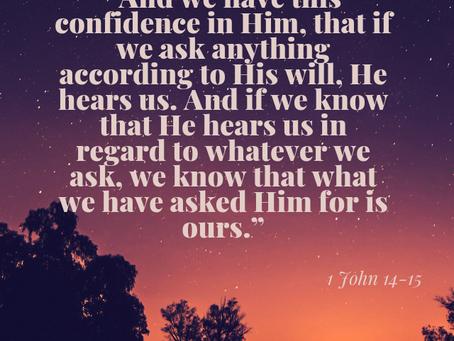 CONFIDENT WE ARE HEARD