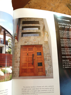 Quality Timber Door - Magazine