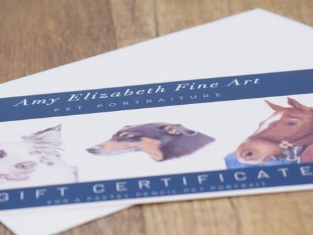 Pet Portrait Gift Voucher- Why should I buy a pet portrait gift voucher as a present?