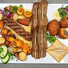 Mediterranean Meat Sampler