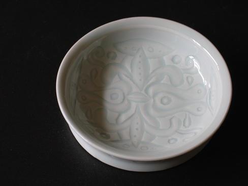 青白磁小皿