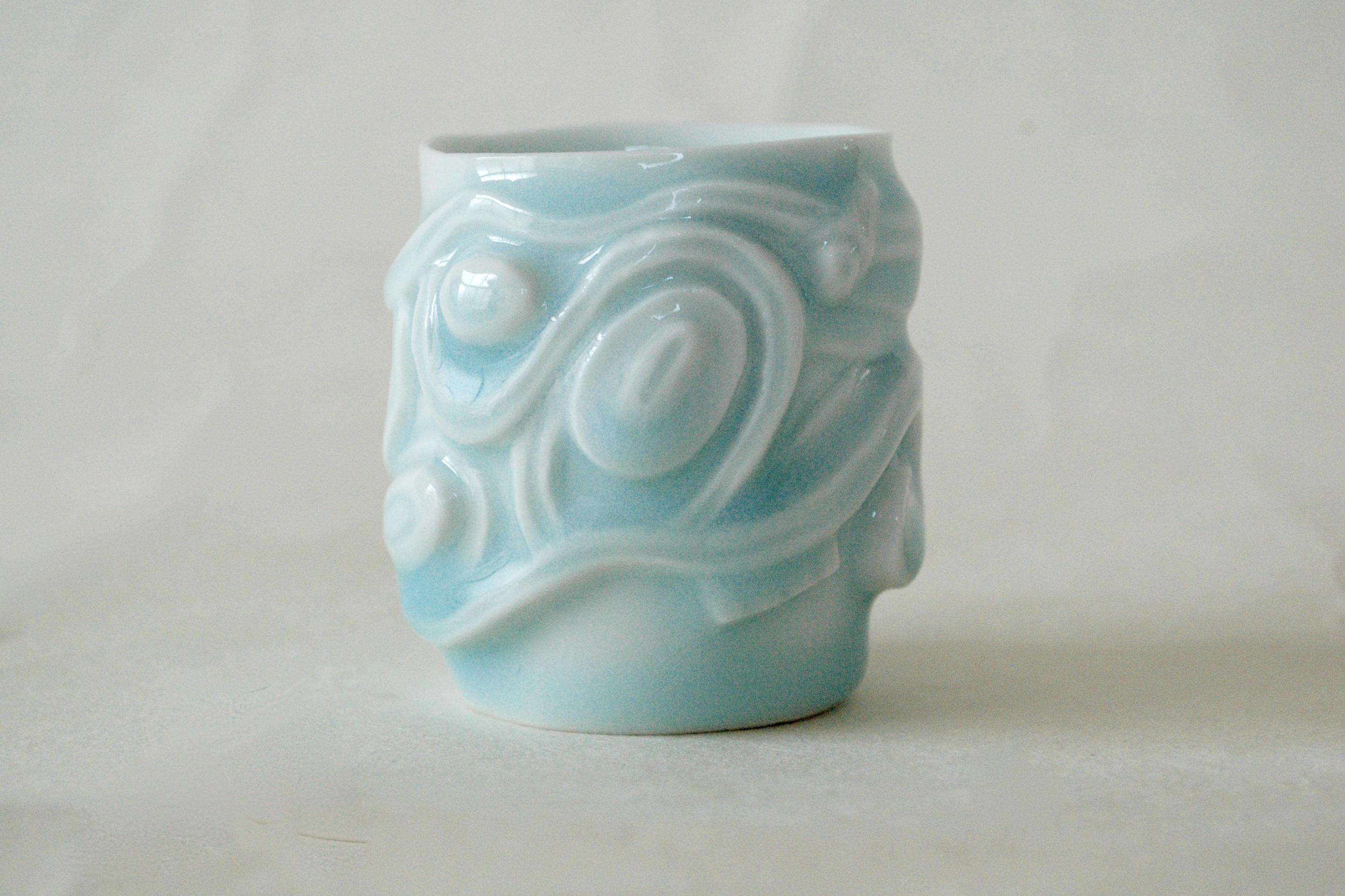 青白磁酒盃 Celadon