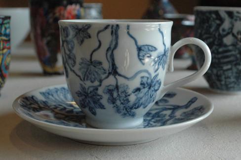 アカシアのカップ&ソーサー