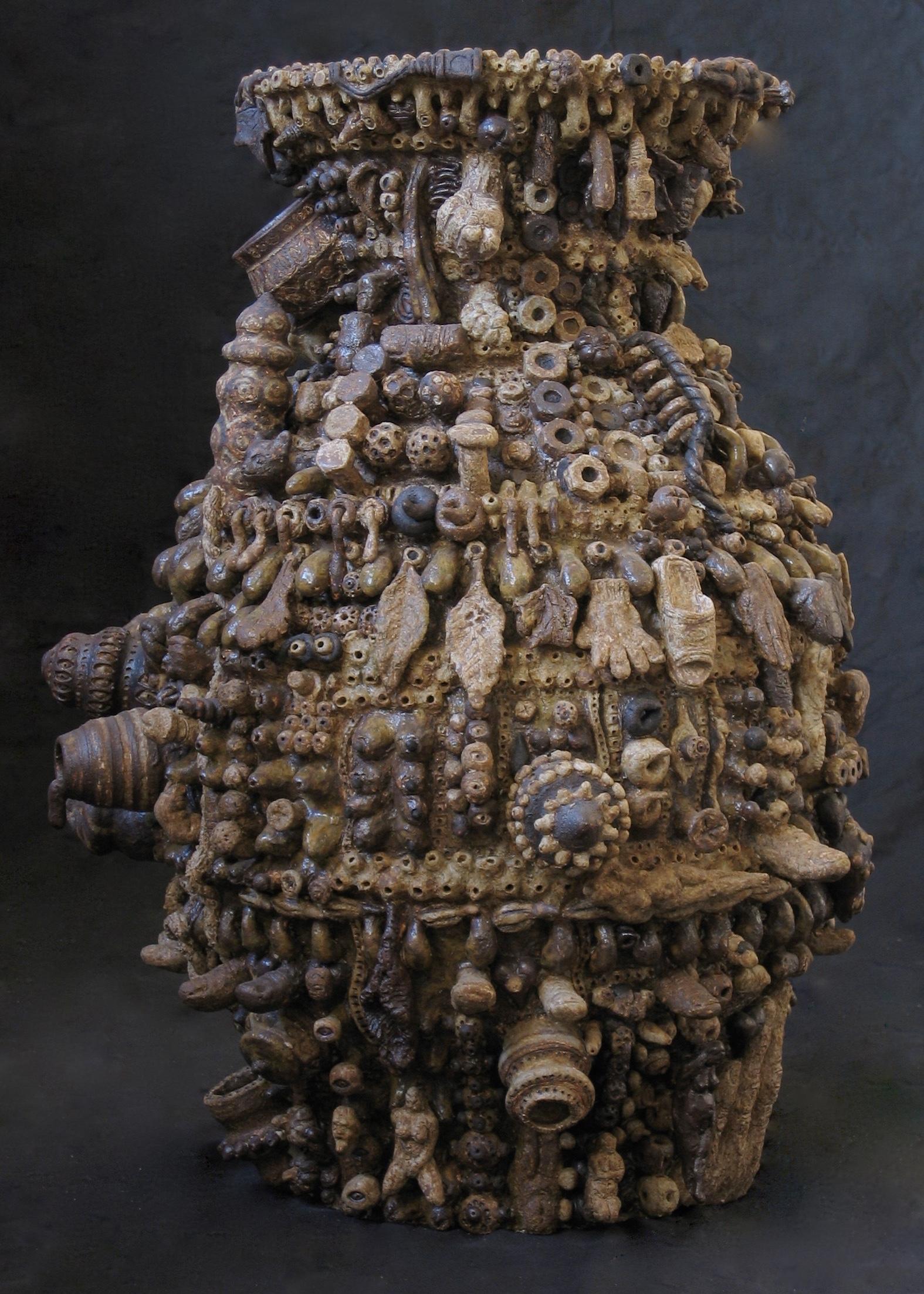 「愛のツボ」伊羅保大壺
