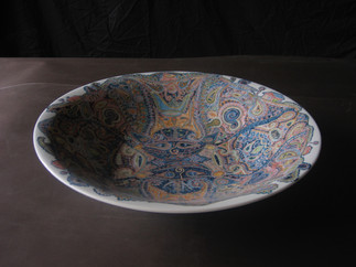 釉下彩大皿