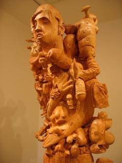 Innocent Man I am also a sculptor .