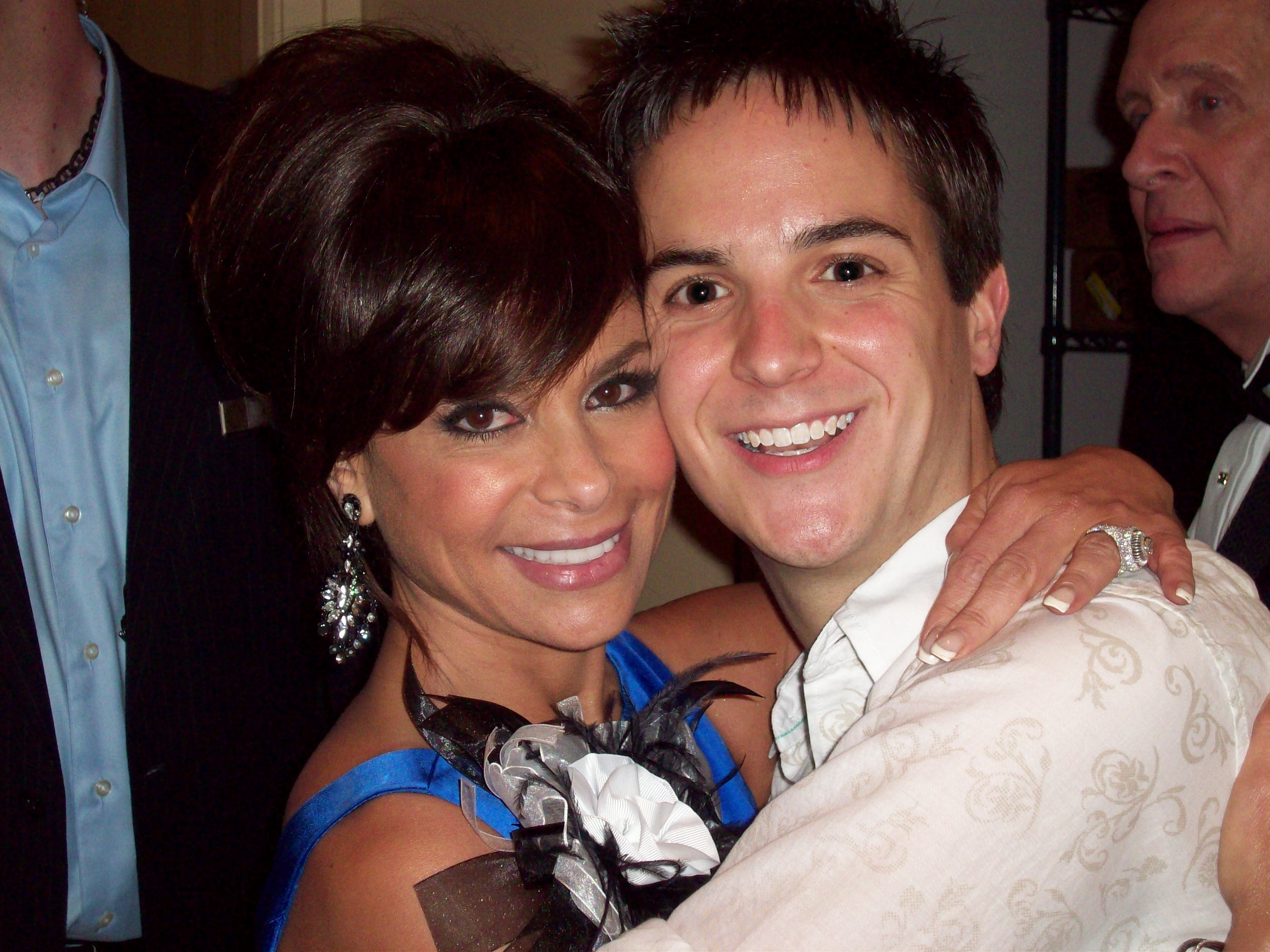 Paula Abdul with Colby Shinn
