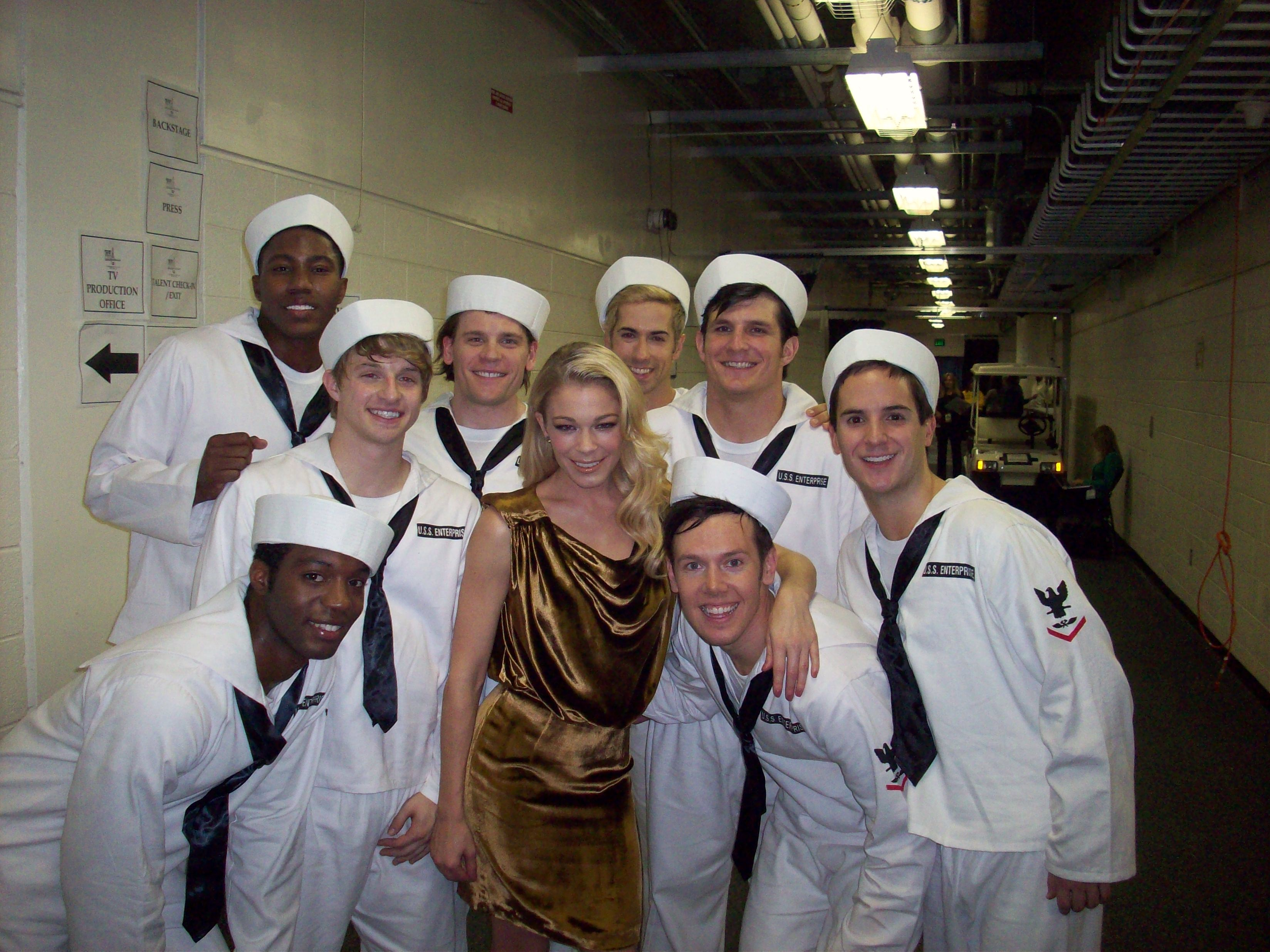 LeAnn Rimes Backstage