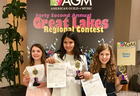 American Guild of Music Competition 2019