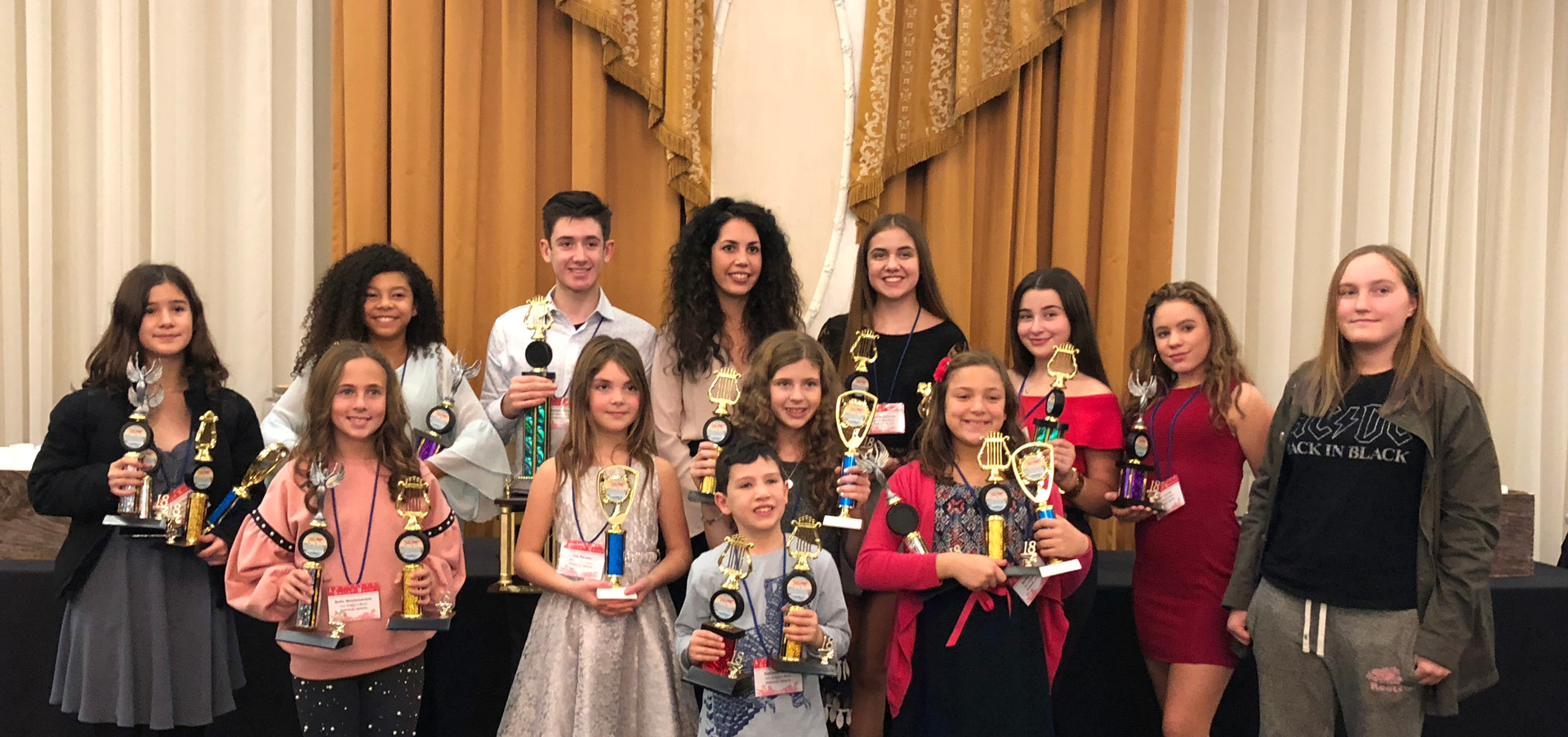 American Guild of Music Competition 2018