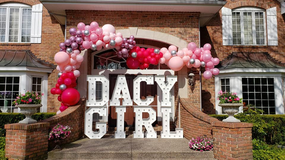 DRIVE BY PARTY DECORATIONS BY YELLOW SHO