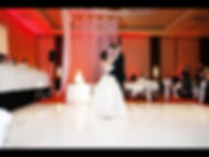 White High Gloss Dance Floor for rent by