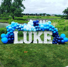 Gender reveal_Baby Shower Decorations_Big Light Up Marquee Letters_Balloon Decorations_Chi