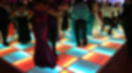 Led Dance Floor for rent by Yellow Shoes