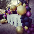 Big Light Up Marquee Letters_Balloons Garland_ Balloon Decor_Chicago_ Yellow Shoes Event R