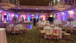 Wedding Uplighting by Yellow Shoes Event