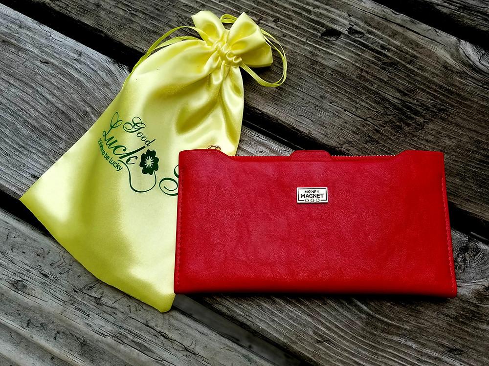 Feng Shui Wallet, Feng Shui Coins, Good Luck Gift