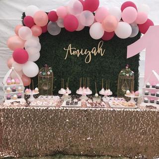 Custom Laser Cut name sign for wedding b
