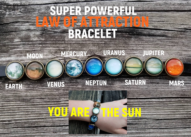 SUPER POWERFUL LAW OF ATTRACTION BRACELET