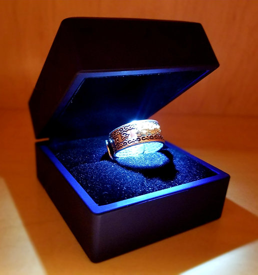 Genuine Tibetan Sacred Magical Ring of Power to Change Life Dimensions