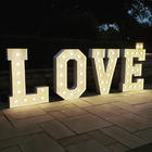 LOVE_Big Light Up Marquee Letters_Balloon Decorations_Chicago_ Yellow Shoes Event Rentals.