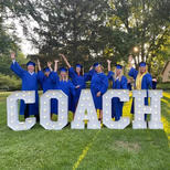 Graduation Party Decorations Rental_Chicago_GRAD Marquee Letters_ Yellow Shoes Event Renta