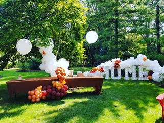 HOME WArming Party Big Light Up Marquee Letters_Balloon Decorations_Chicago_ Yellow Shoes