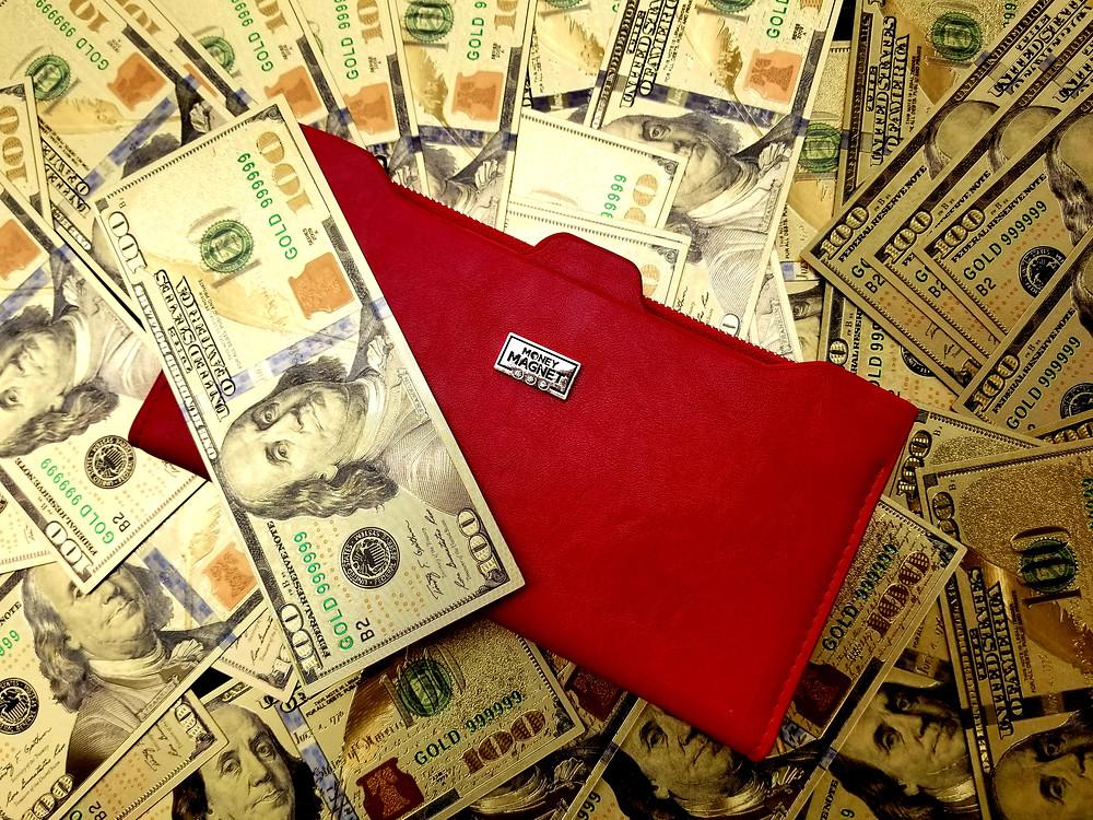 MONEY MAGNET GENUINE FENG SHUI WALLET
