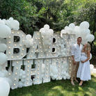 Gender Reveal party_baby Shower Party Rental_Big Light Up Marquee Letters_Balloon Decorati